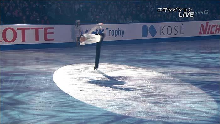 羽生結弦 NHK杯エキシビション2014 衣装