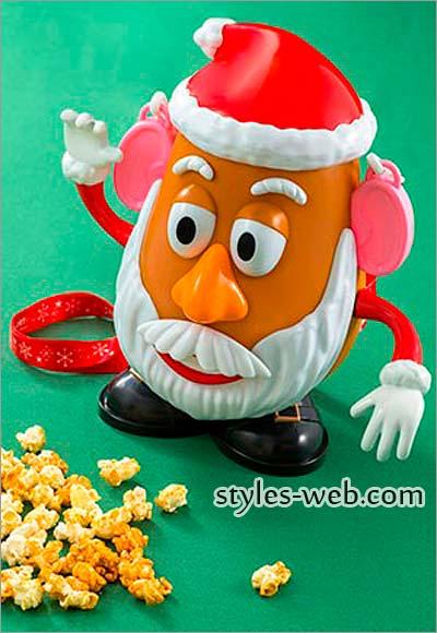 ミスターポテトヘッドのクリスマス限定ポップコーンバケット