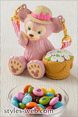 シェリーメイのミニスナックケースや新作ダッフィーのポップコーンバケットも登場した、お土産お菓子としても人気のミニスナックケースとポップコーンバケット。