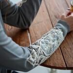 soulberry(ソウルベリー)2016秋の着回しコーデ。30代・40代のナチュラル服。【袖レースカーディガン】