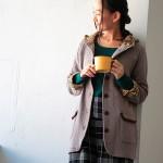 30代・40代に人気のレディースファッション通販。秋のコーディネート2016。【花とキルトシリーズ ミドルコート】