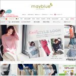 mayblue(メイブルー)の口コミと評判。韓国のナチュラル系大人カジュアルレディースファッション