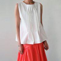 バックオープンノースリーブベスト。韓国の上品なナチュラルファッション通販LITTLEBLACK(リトルブラック)2017春夏の人気アイテム