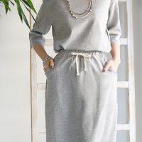 カットオフデザインセットアップ。上品で可愛いファッションREAL CUBE(リアルキューブ)2017春夏流行のトレンドアイテム