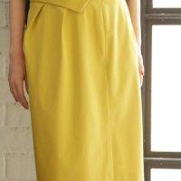 折り返しデザインペンシルスカート。大人の上品でキレイめファッションSTYLEDELI(スタイルデリ)2017春夏流行のトレンドアイテム